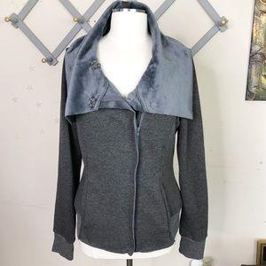 Hem & Thread grey jacket